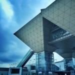東京国際展示場(東京ビックサイト) | お台場のシンボル、逆三角形の会議棟