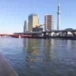 吾妻橋(東京スカイツリー/アサヒビール本社ビル)
