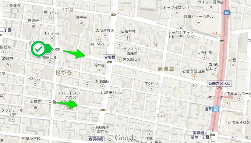 スカイツリー地図4