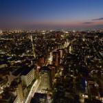 キャロットタワー展望ラウンジ | 無料展望台から望む夕焼けと長閑な東京