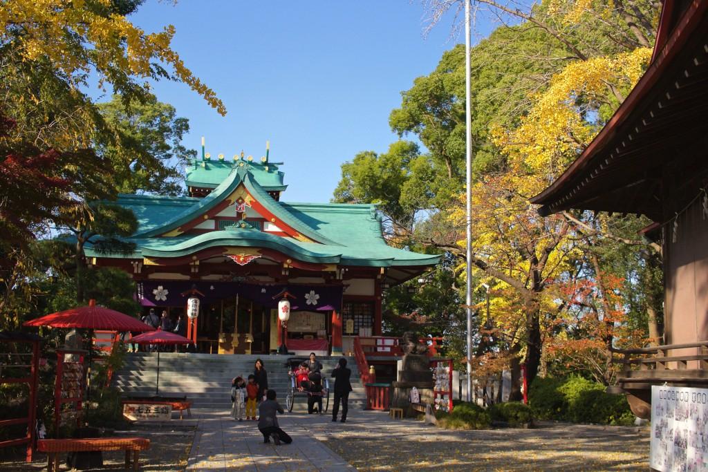 多摩川浅間神社1