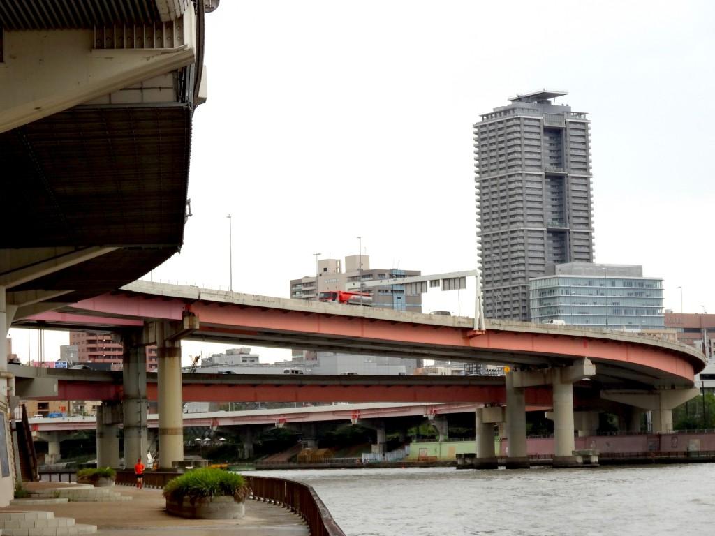 隅田川と首都高